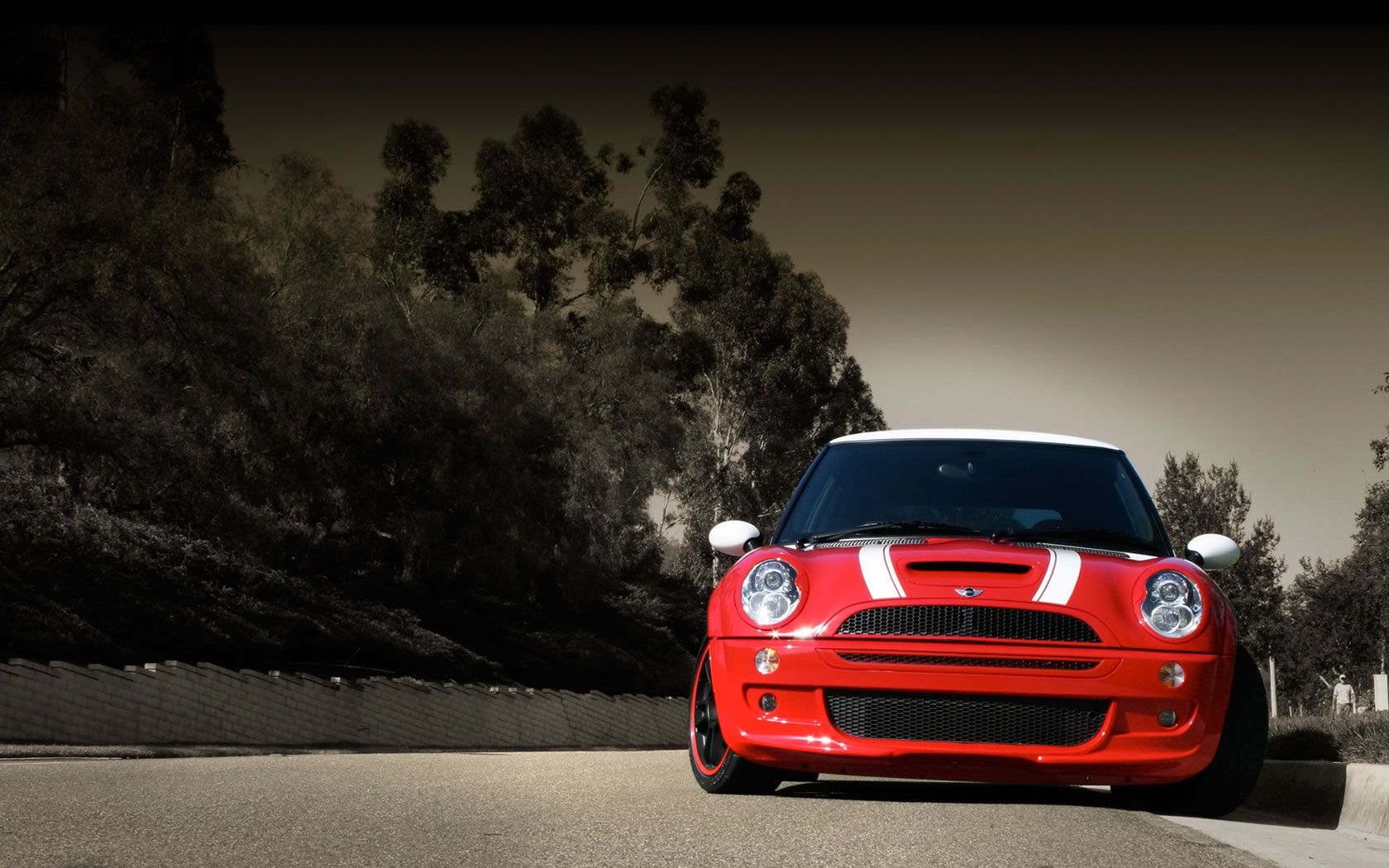 2013 Red Race Mini Cooper Red Car Hd Wallpaper Oyeahhhh
