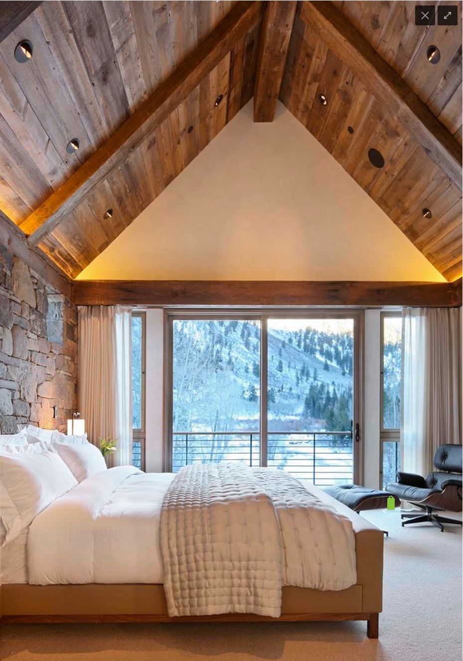Vaulted ceiling for the bedroom   Home Ideas   Pinterest   Ceiling