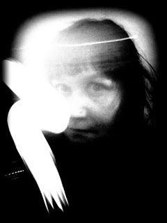 Satu Ylävaara Portfolio : Self or Elf portraits with light ;) Polaroid. Part 2