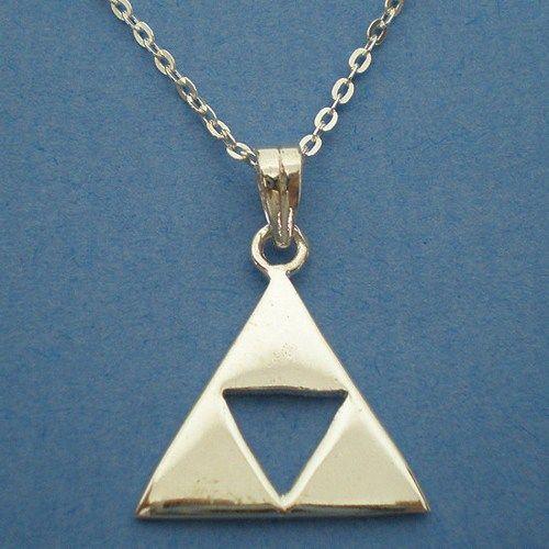 Princess Zelda Jewelry: Legend Of Zelda Triforce