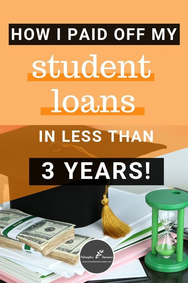 You Don T Have To Take Ten Twenty Or Thirty Years To Pay Off Your Student Loans Student Loans Paying Student Loans Loan Payoff