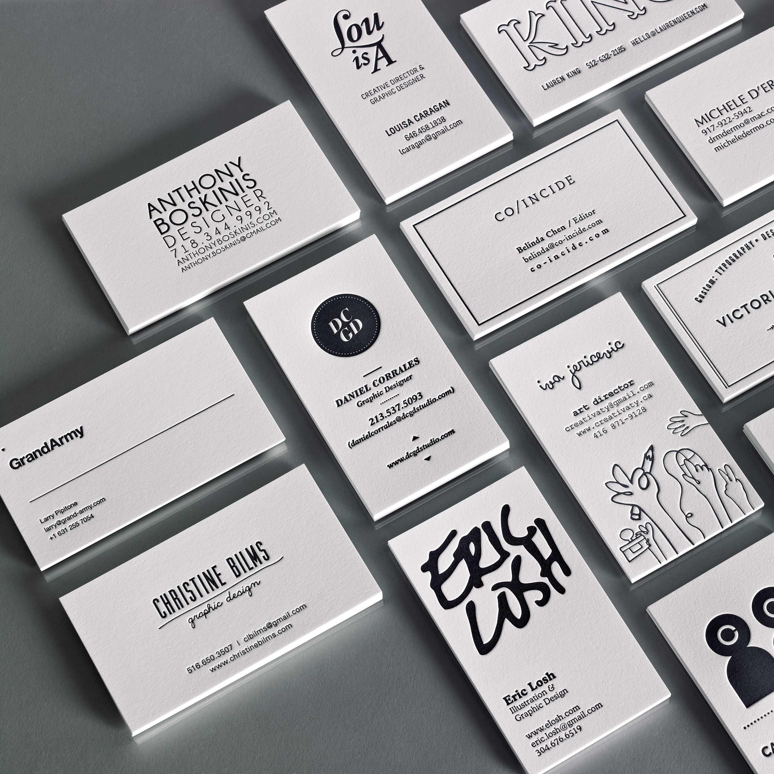 Piggyback Letterpress: 250 cards for $175 | calling cards | Pinterest