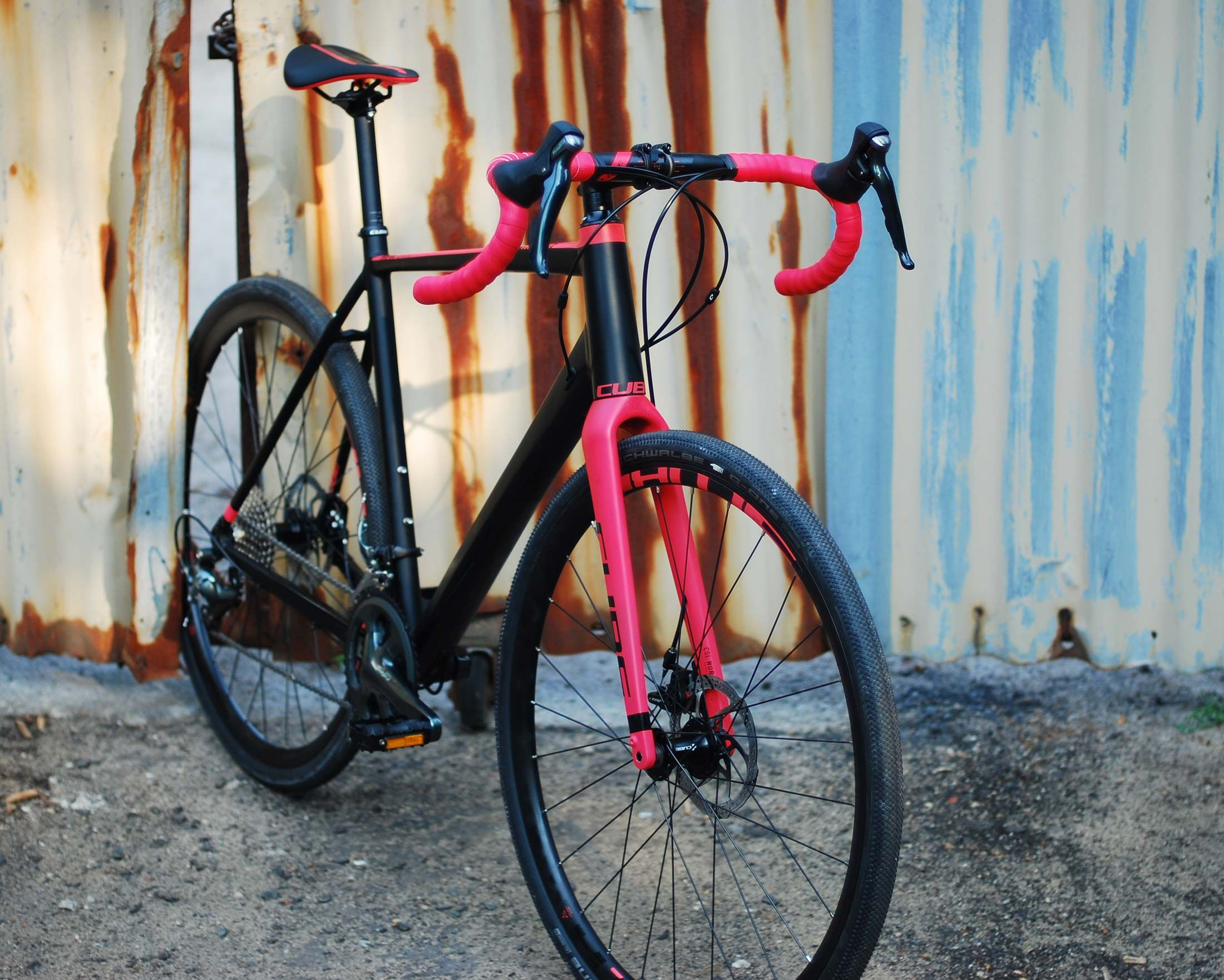 Cube Nuroad Ws Damen Gravel Fahrrad 2019 Black N Coral Nanobike De