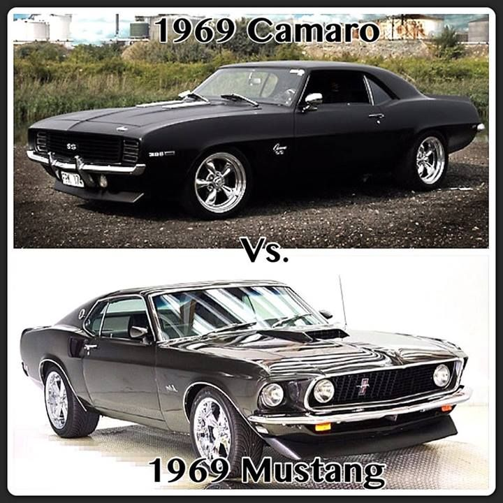 Saw The Post Of New Mustang Camaro What About These Ones