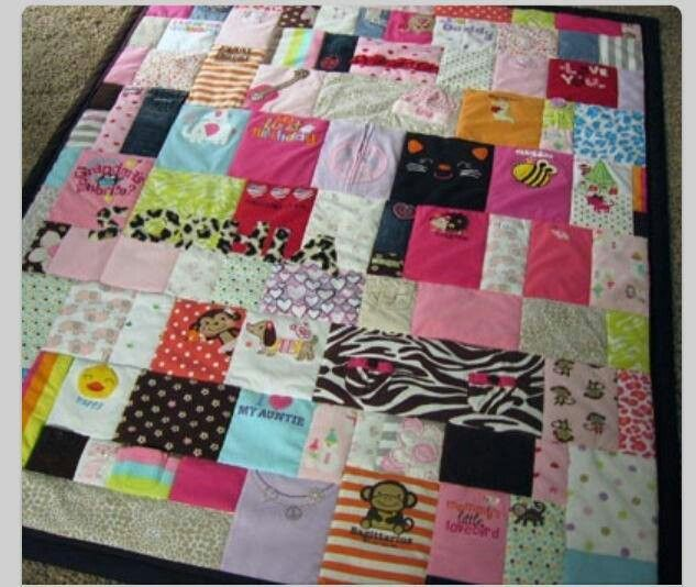 Baby Clothes Quilt Babies Craft