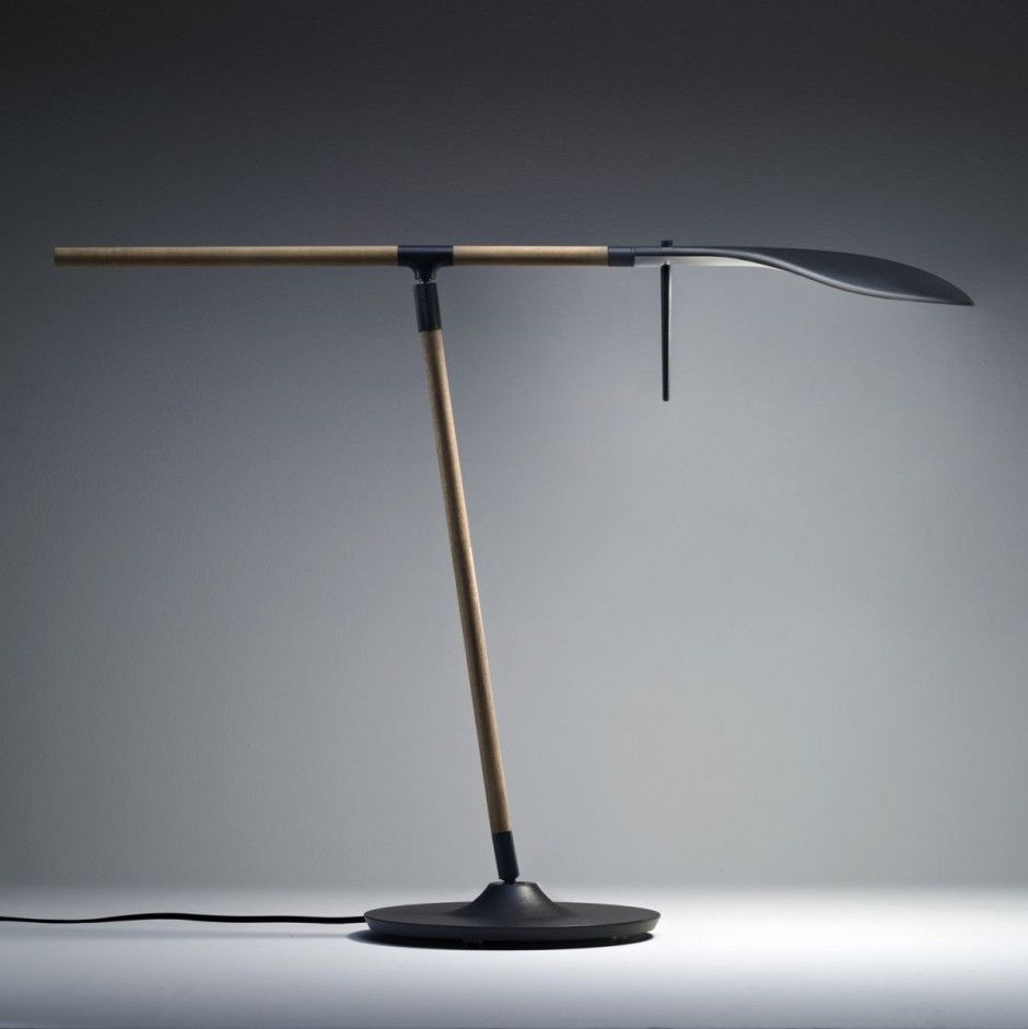 LIGHTING :: The Paddle Lamp by Benjamin Hubert for Fabbian