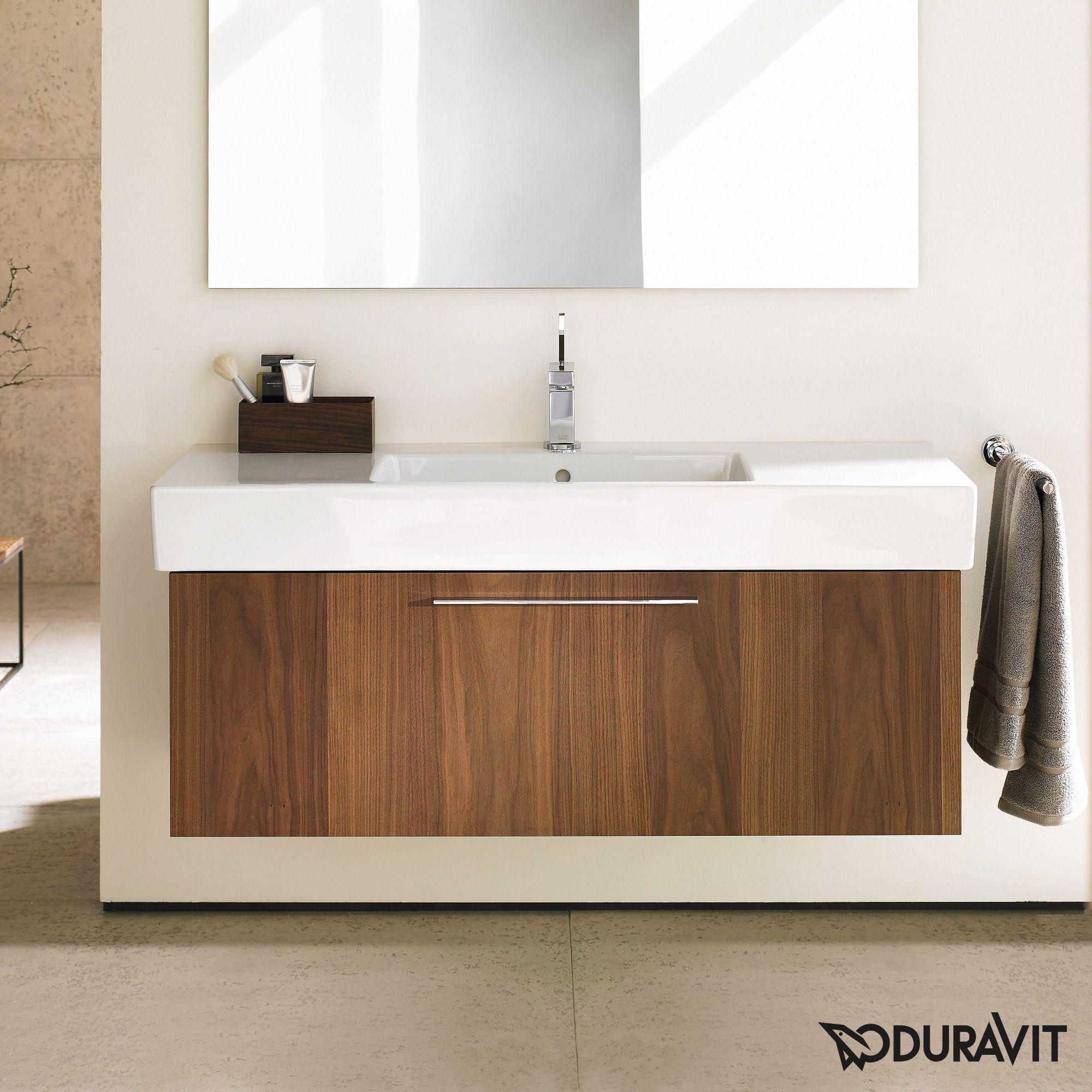 Duravit 31 5 Inch American Walnut Fogo Vanity American Walnut