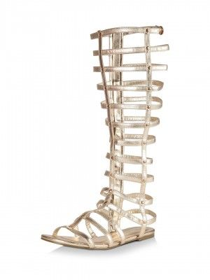 NO DOUBT Knee High Gladiator Sandals purchase from koovs.com ...