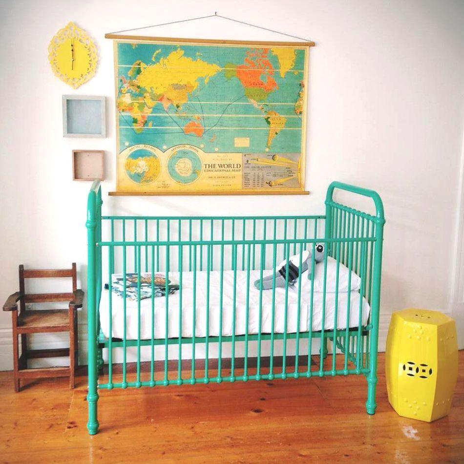 inspiratie: #babykamers met een #vintage #interieur. met vintage, Deco ideeën
