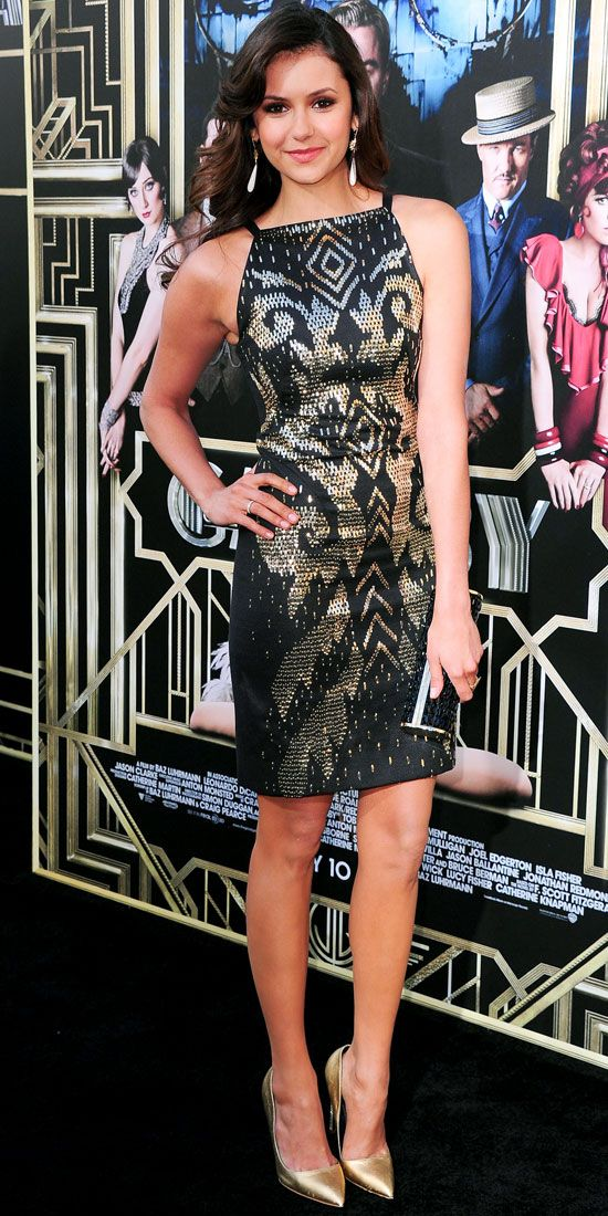 At the New York premiere of The Great Gatsby, Dobrev channeled the ...
