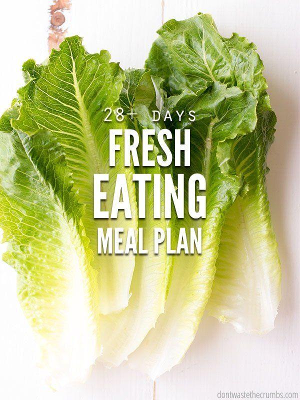 Fresh Eating Meal Plan