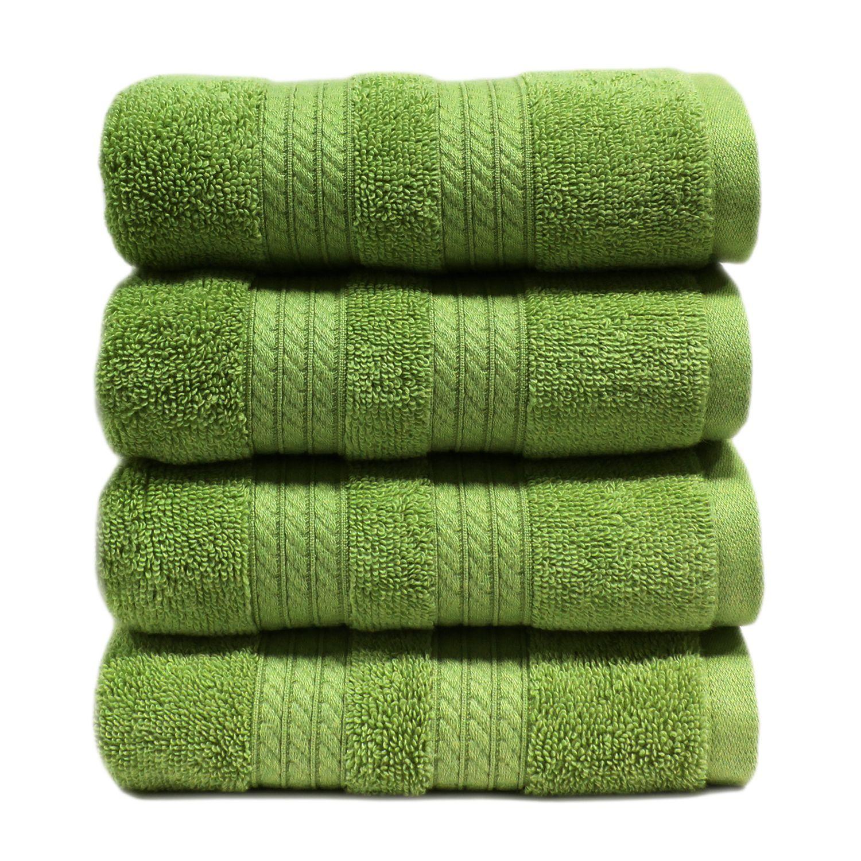 100 Cotton Luxury Hand Towel 16 X 30 Sam S Club Apple Green