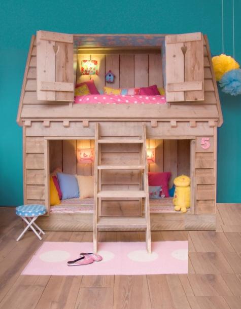 Cama Casa En Dormitorios Infantiles Dormitorio Casita De