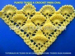 Üçgen Şal Modelleri #crochetedheadbands