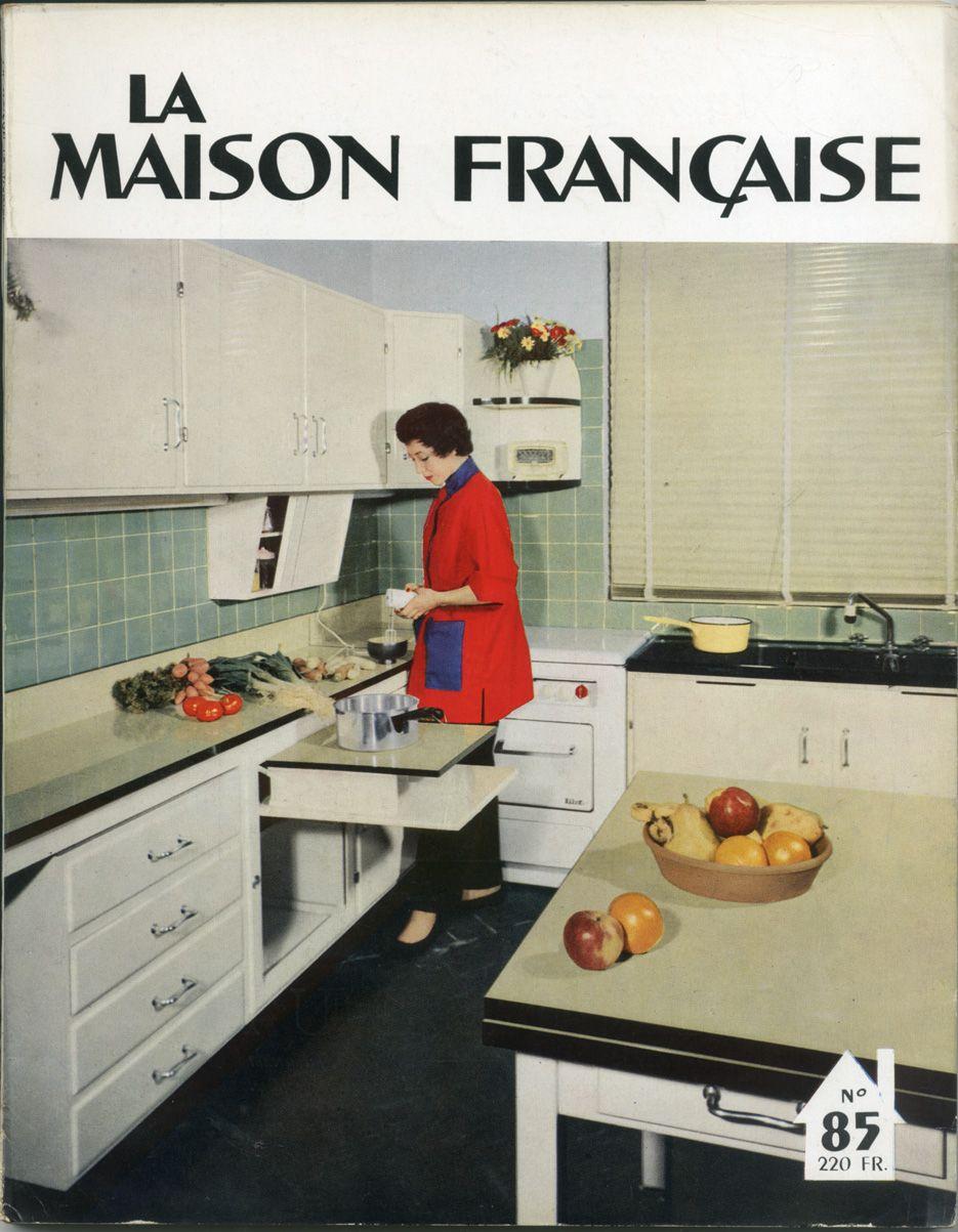Cuisine vintage en l de la marque comera parue en - Marque de cuisine francaise ...