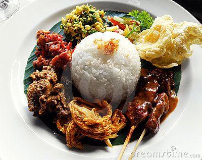 Ethnic Asian Food, Nasi Campur