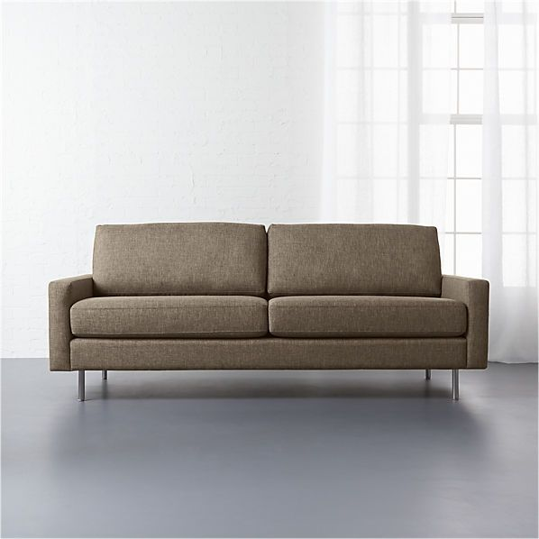 Central Sepia Sofa 999 Cb2 Furniture Sofa Sofa Sale