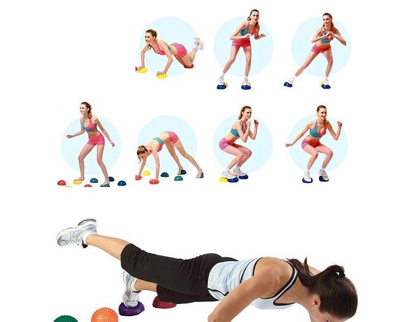 Buy Online Yoga Half Ball Fitness Equipment Kids Elder Durian Massage Mat Exercise Balance Point Gym Yoga Pilates Online Yoga No Equipment Workout Yoga Pilates