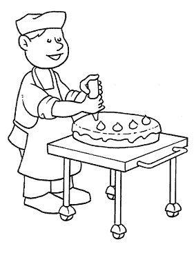 bakker | Thema bakker kleuters / Theme baker preschool / Boulanger ...