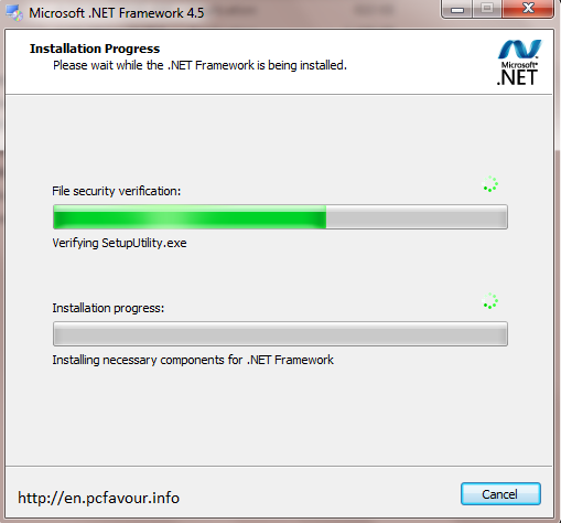 Microsoft Dotnet Framework 4.5