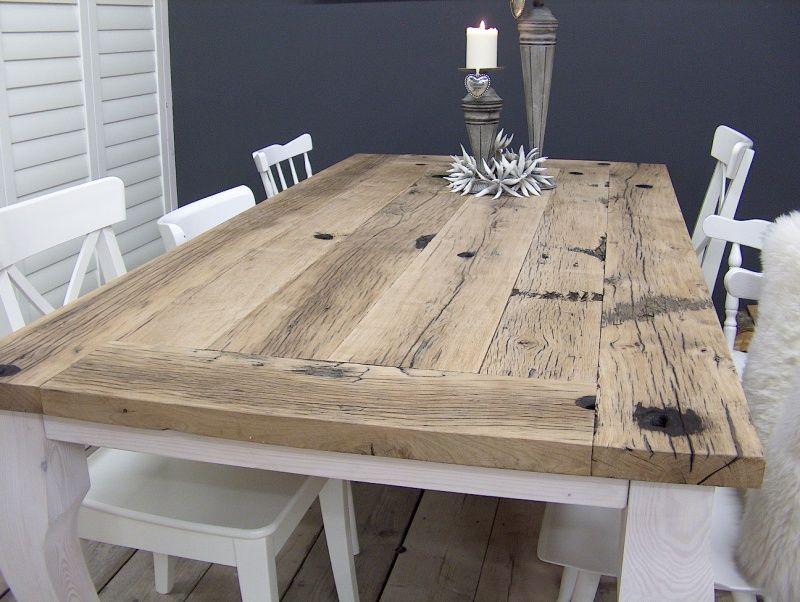 Via jorg. tafel queen anne. reclaimed wood table. such an