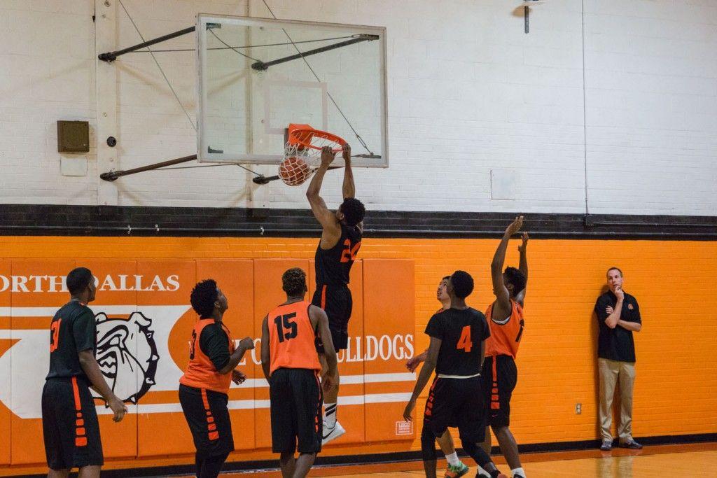 2015 Orange  White Game - North Dallas Bulldogs - North Dallas High