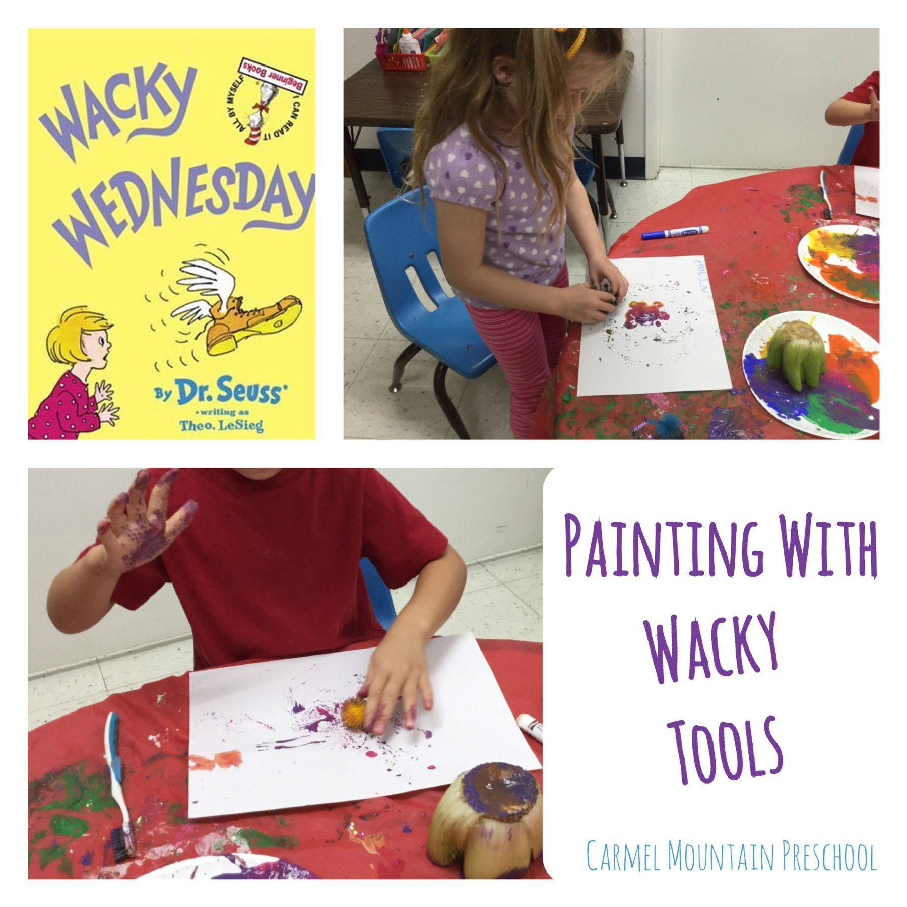 Paint With Anything And Everything For A Wacky Wednesday Activity