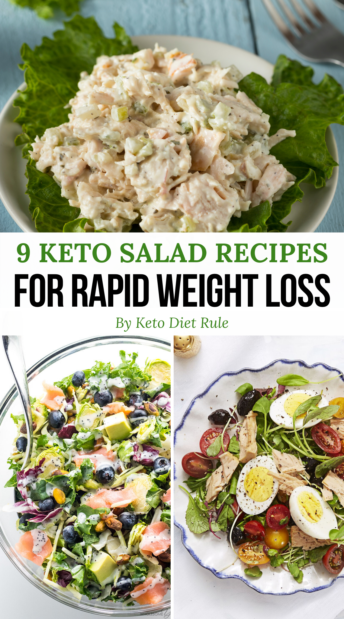9 Crazy Filling Protein-Packed Keto Salad Recipes for Rapid Weight Loss -  Need some healthy and del...