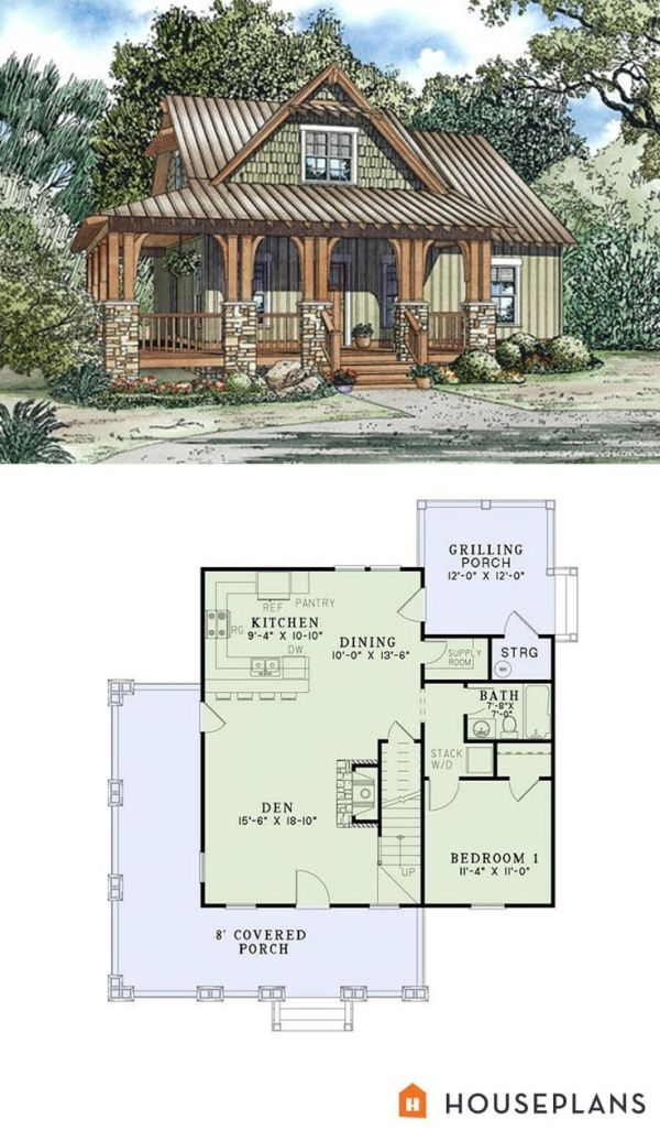 Craftsman Style House Plan 3 Beds 2 Baths 1374 Sq Ft Plan 17 2450