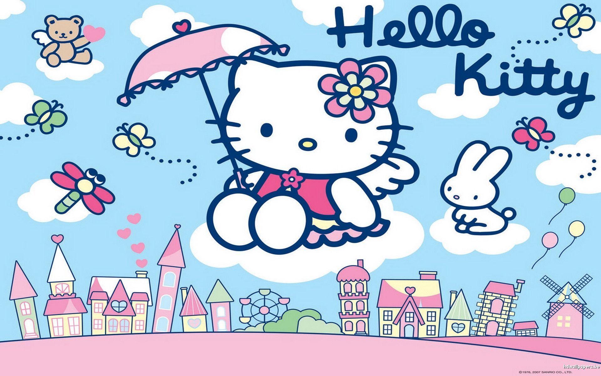 free purple hello kitty wallpaper desktop background a long wallpapers