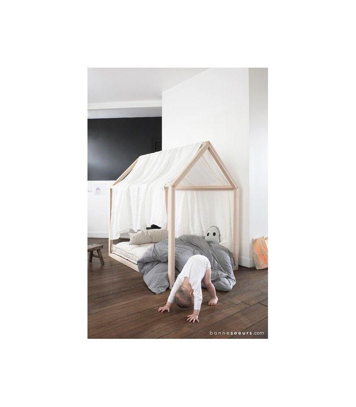 Estructura Cama Casa Con Imagenes Habitaciones Infantiles