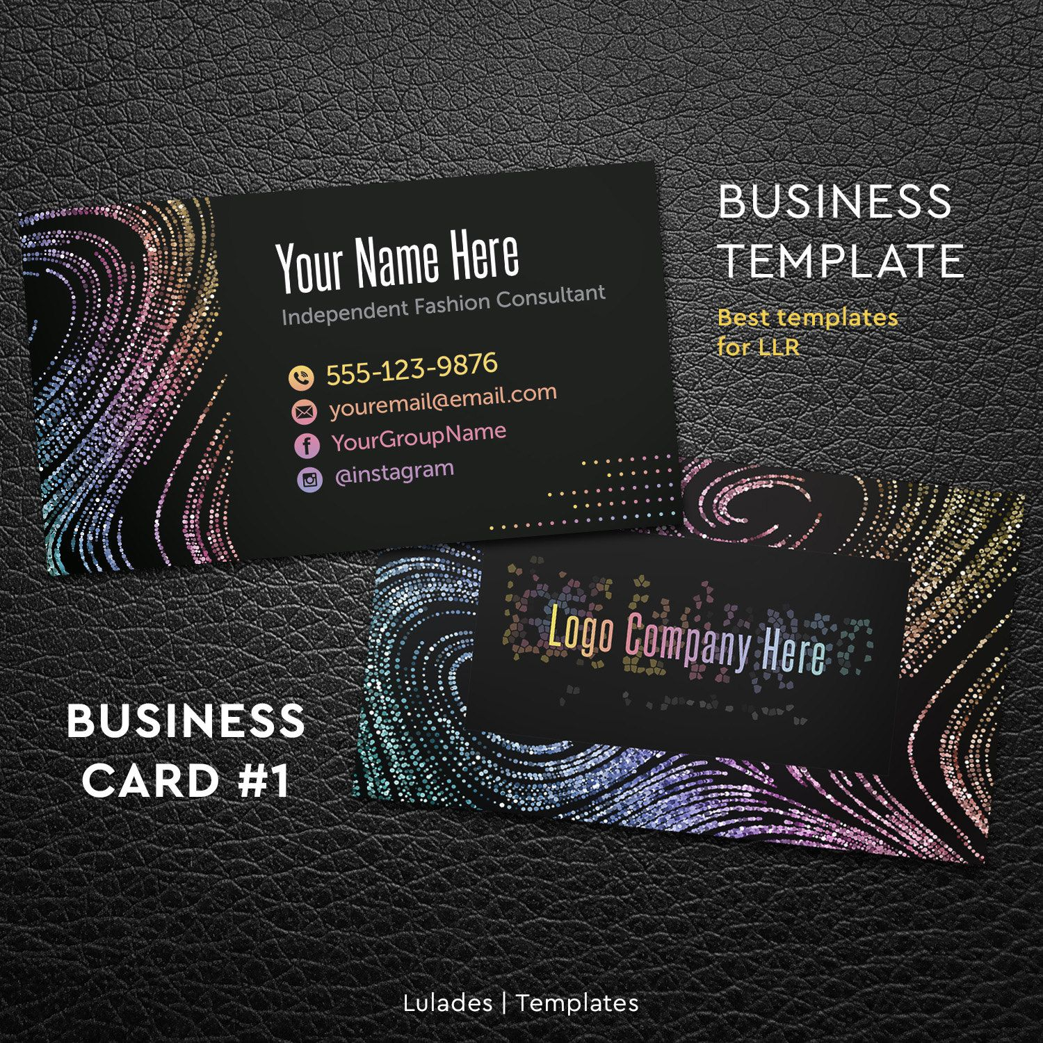 business card free personalize home office approved fonts and