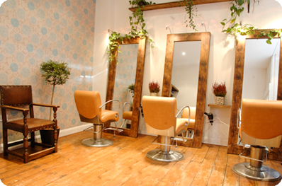Small Salon Design | Malishi is a small independent hair salon in ...