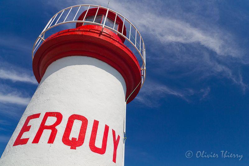 le phare de Erquy - Erquy, Bretagne