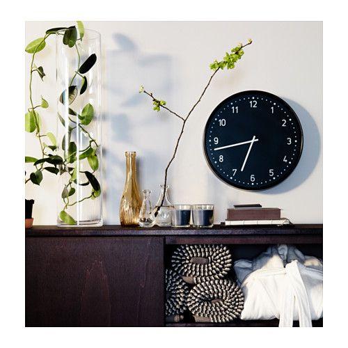 BONDIS Reloj de pared   IKEABONDIS Reloj de pared  negro   Wall clocks  Clocks and Walls. Living Room Clocks Ikea. Home Design Ideas