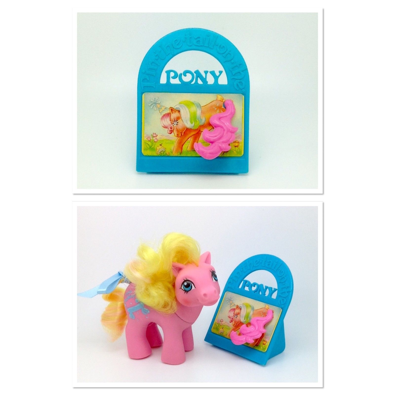 ✩ My Little Pony ✩ G1 MO Baby Gametime's 'Pin The Tail On The Pony' Game ONLY! | eBay