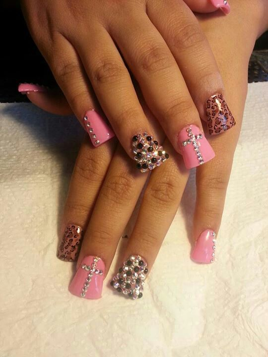 Nails Estilo Sinaloa J.C | unas | Pinterest | Bling nails, Makeup ...