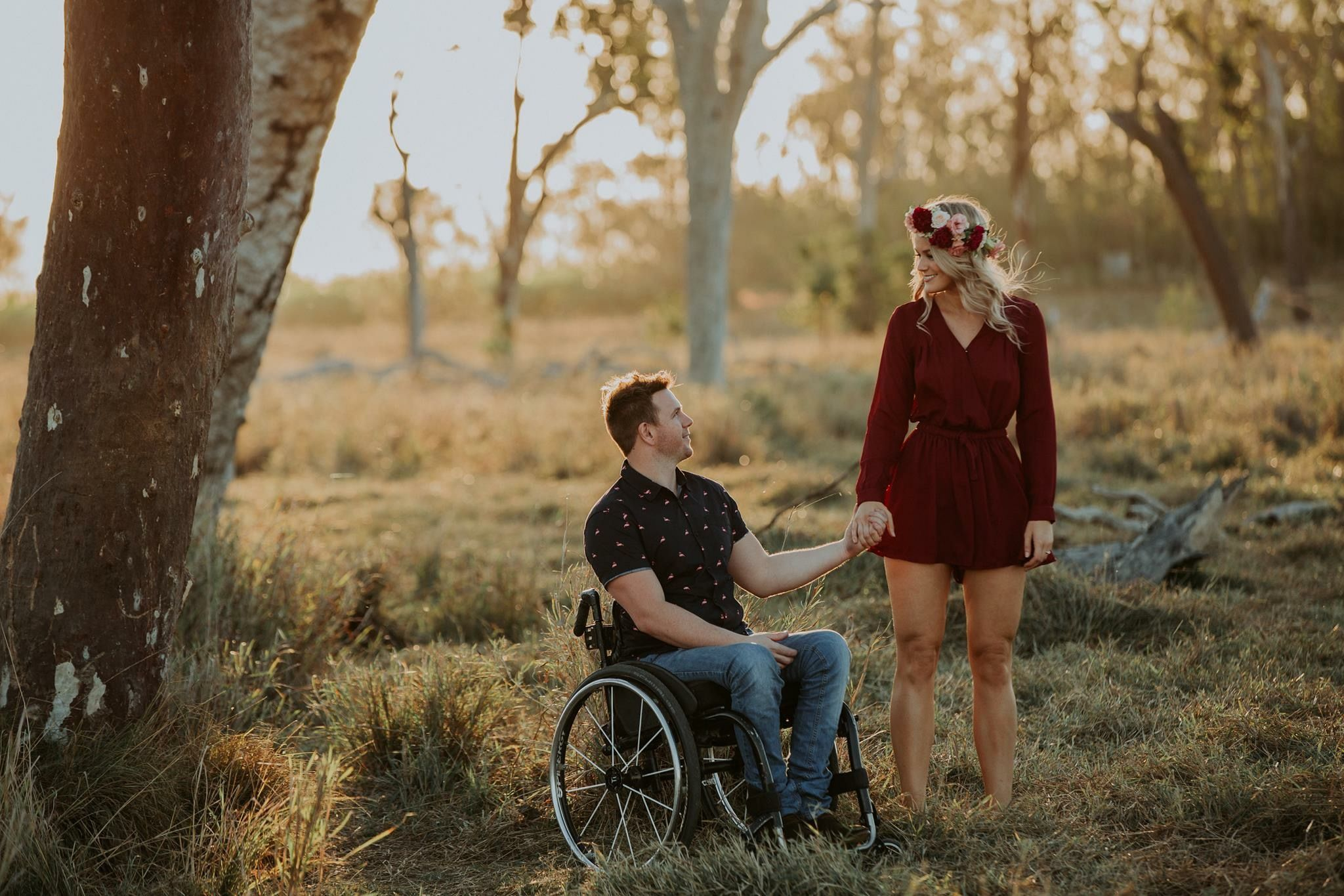 #love #summerrainphotography #lovehasnolimits #engagementshoot #wheelchair