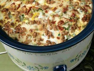 Slow Cooker Breakfast Casserole Recipes Cooker Recipes Breakfast Casserole Sausage