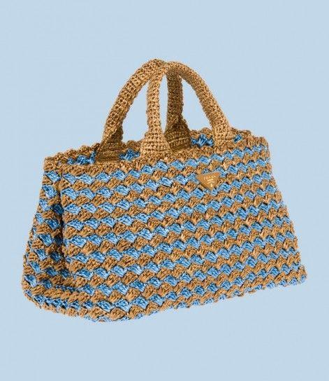 fd18aaf5e1 borse prada all'uncinetto - Cerca con Google | el işi çanta ...