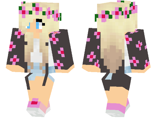 Pretty girl skins minecraft pe google search minecraft - Cool girl skins for minecraft pe ...