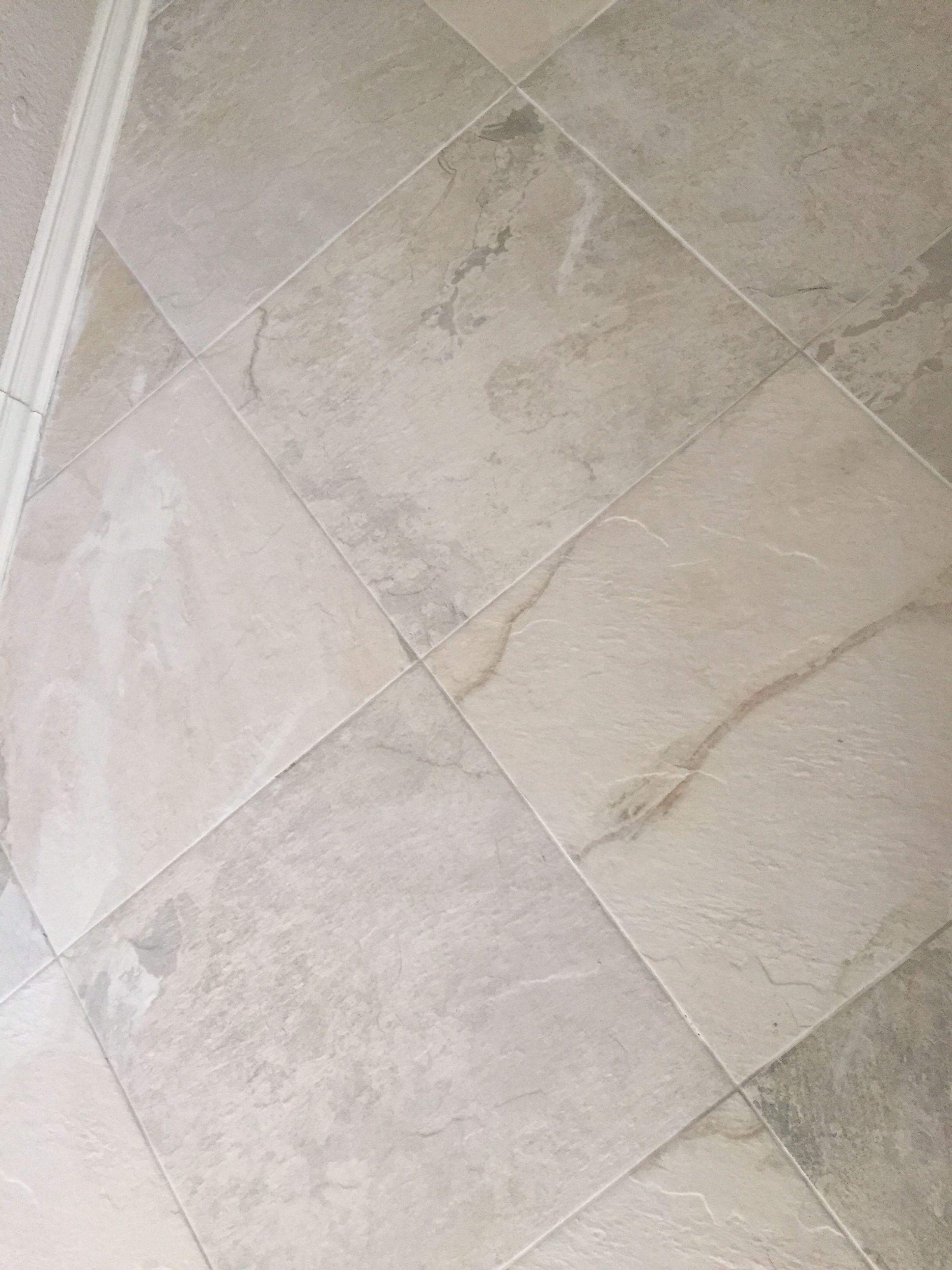 Ivetta white porcelain tile with mapei smoke unsanded grout 18 x ivetta white porcelain tile with mapei smoke unsanded grout 18 x 18 remodeling ideasbathroom remodelingfloor dailygadgetfo Choice Image