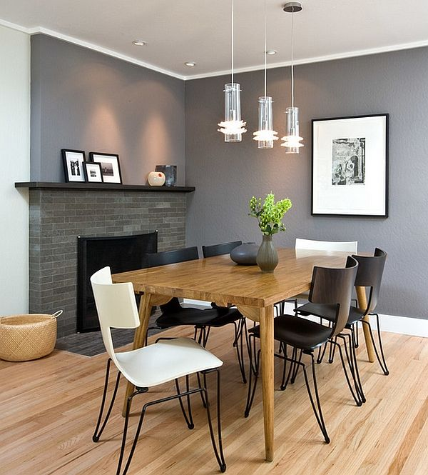 ordinary Modern Dining Room Colors photo