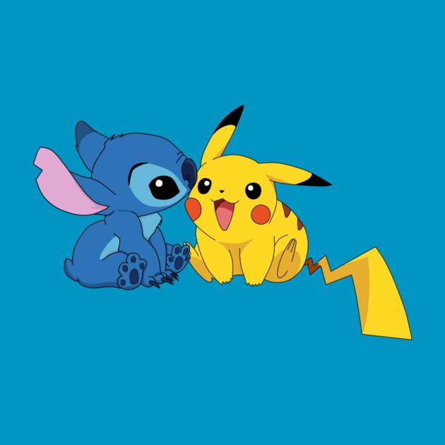Pikachu Stitch By Koharuuzumaki Stitch And Pikachu Cute Disney Drawings Cute Disney Wallpaper