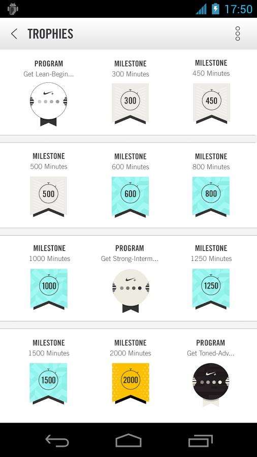 badge system nike fitness app Workout apps, App badges
