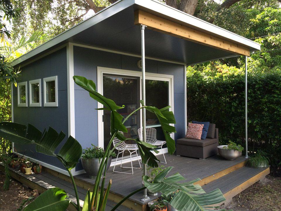 Prefab From Cabin Fever Backyard Cabin Backyard Office