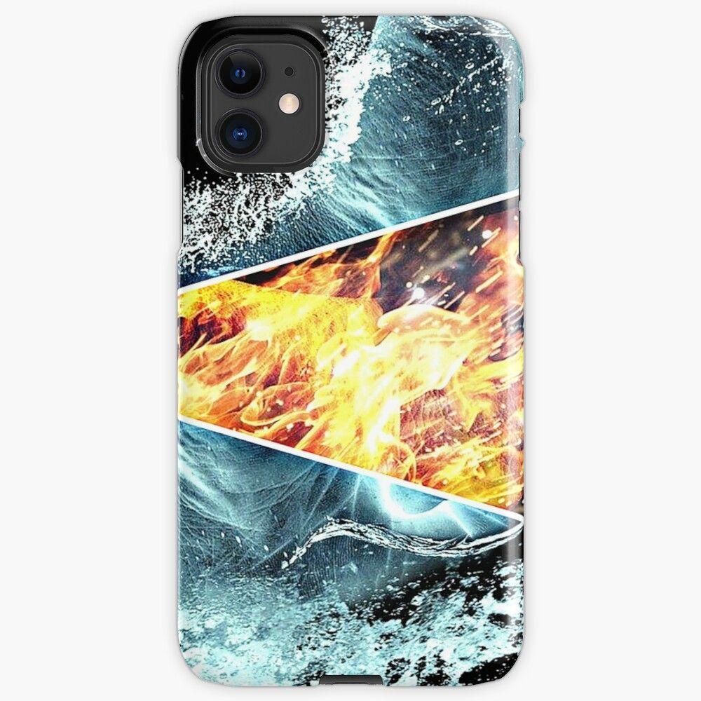iPhone 11 - Rigide 'L'eau et le feu' par Sakouraa | Iphone, Coque ...