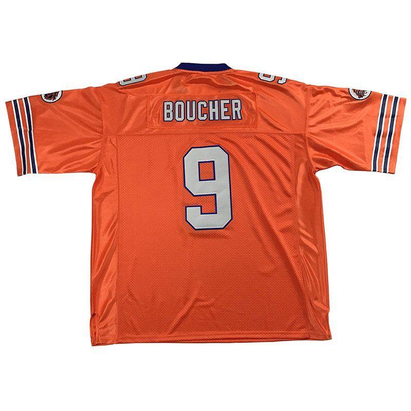 Bobby boucher jersey adam sandler 9 football jersey