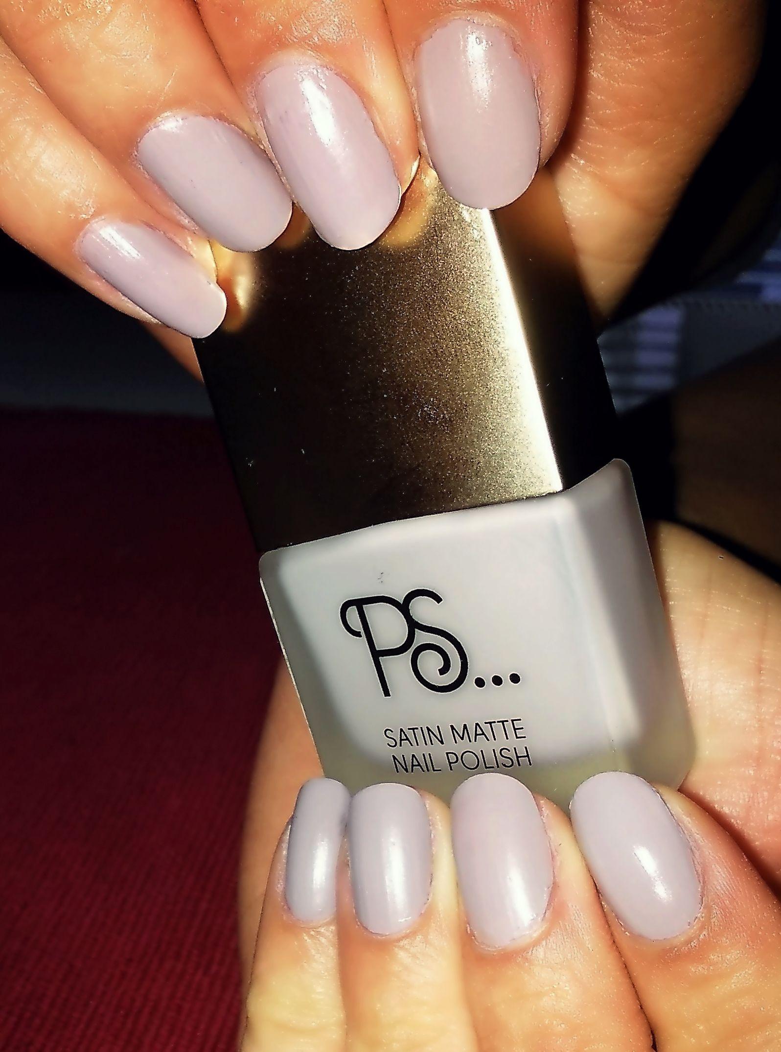 My Nails Ps Satin Matte Nail Polish I Love It 3