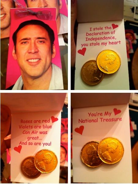 Nick Cage Valentines Cards I Stole The Declaration Of